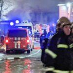 В Люберцах загорелся трехэтажный ресторан | анонсы на oremontekvartir