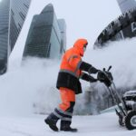Высота сугробов в Москве почти побила рекорд | анонсы на oremontekvartir