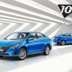 Hyundai Solaris получил спецверсию «10 лет»: столько его выпускают в Санкт-Петербурге | полезное на oremontekvartir
